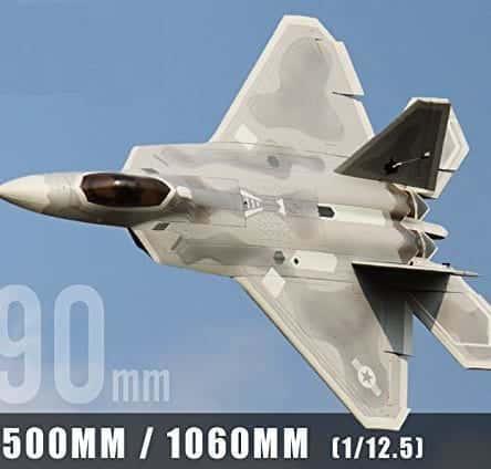 ラジコン ジェット F-22 ラプター Raptor 90mm EDF Jet PNP ダクデットファン 完成機