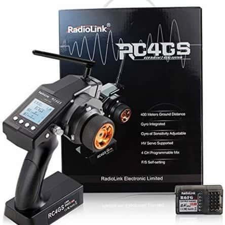 RC4GS 2.4G 4CH RCカー用プロポセット(送信機技適対応)